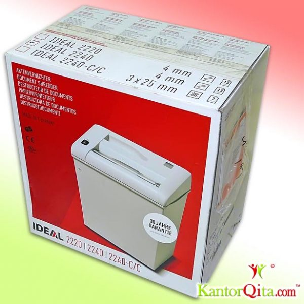 Dus Mesin Penghancur Kertas Paper Shredder IDEAL 2240SC