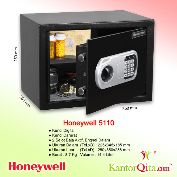 Brankas Honeywell 5110 Kunci Digital