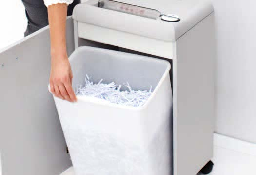 Mesin Penghancur Kertas Paper Shredder IDEAL Practical Shred Bin