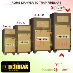 Brankas ICHIBAN UL-125 Rome Drawer To Trap Firesafe
