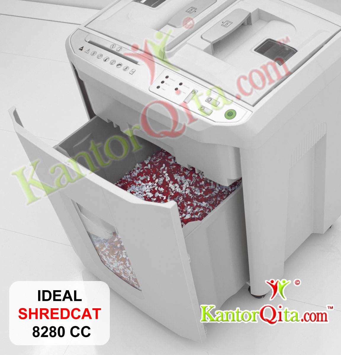 Practical Shred Bin in SHREDCAT IDEAL 8280